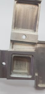 sample cnc part for as machined surface finish