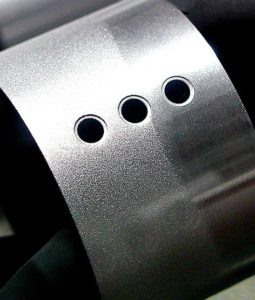 sample cnc part for blasting surface finish