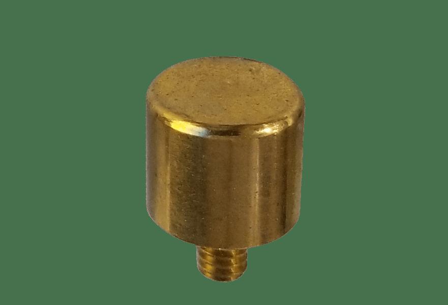 Gold screw brass