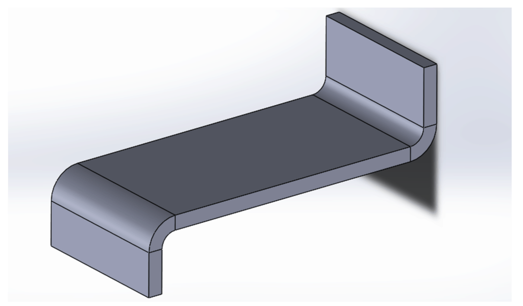 illustration of inconsistent orientation on a sheet metal part