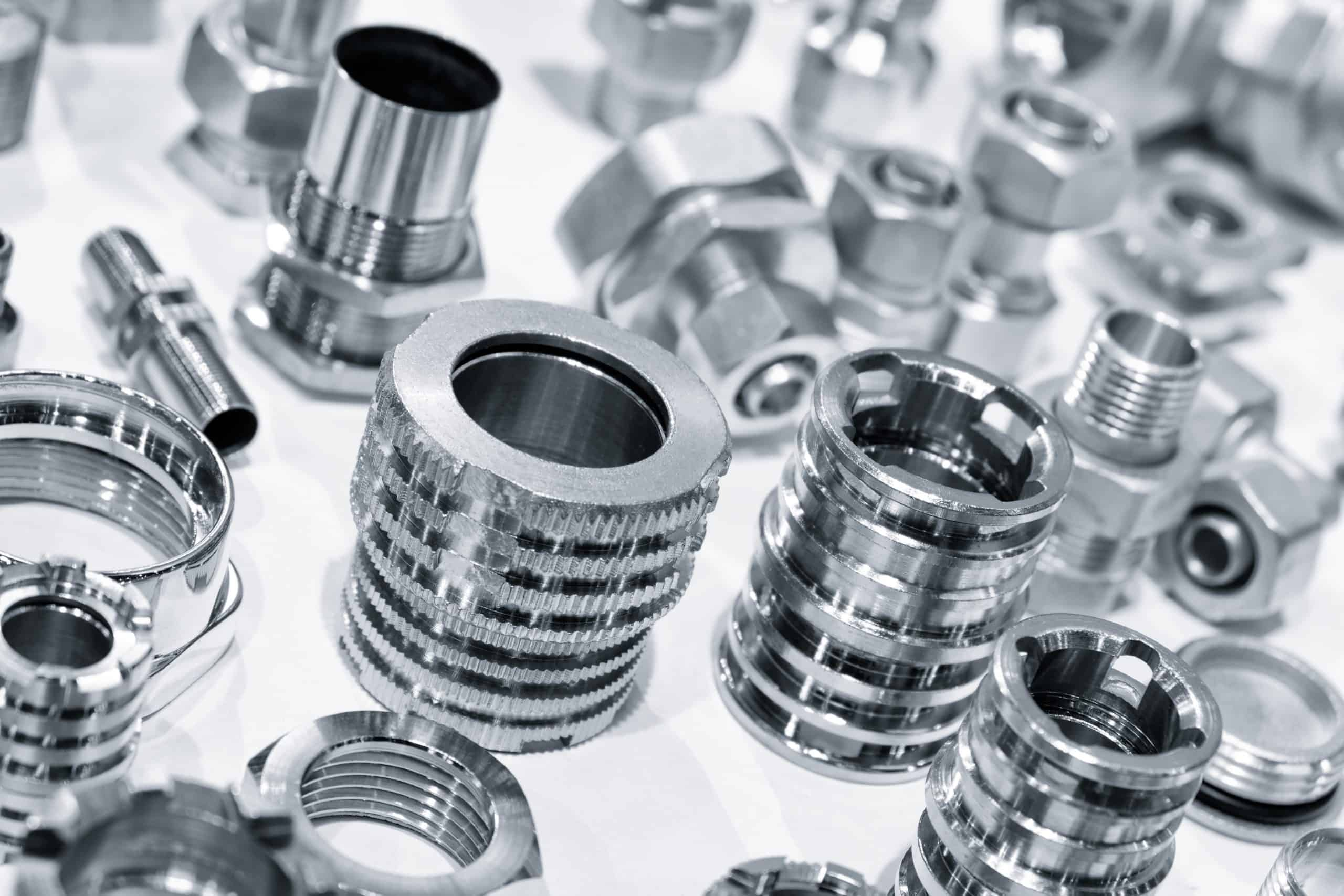 Different types of cnc machined parts