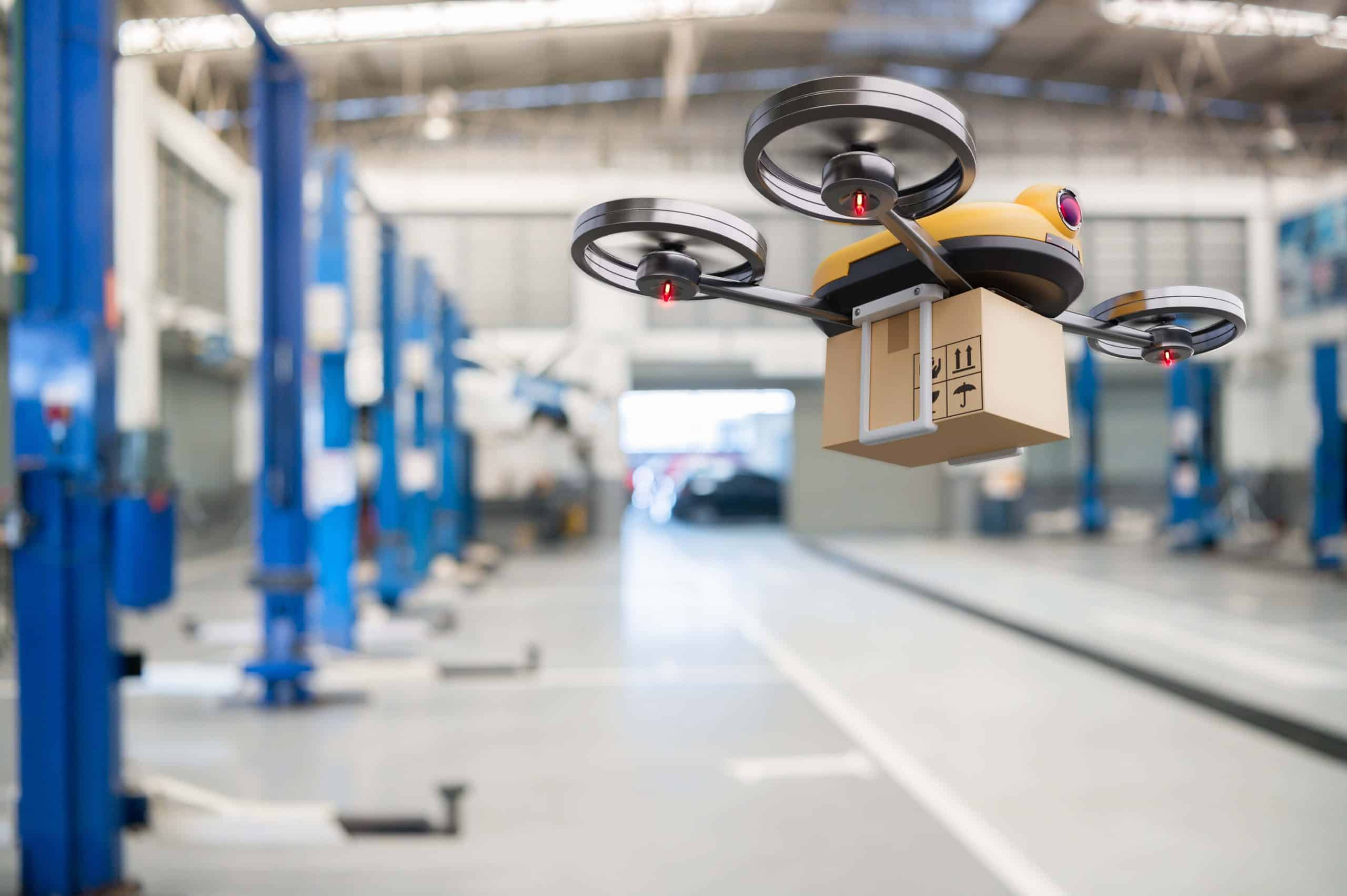 The time of drone delivery:  A new chapter in transportation & logistics